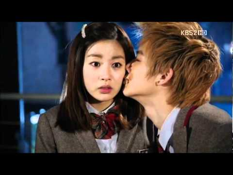 Dream High 2 (드림하이 2) - JB and Kang Sora KISS SCENE [Episode 12 CUT]