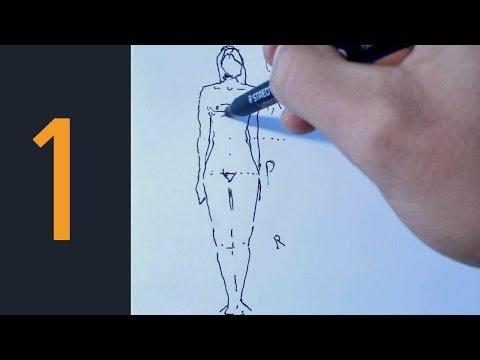Cómo dibujar Figura Humana 1 método divertido