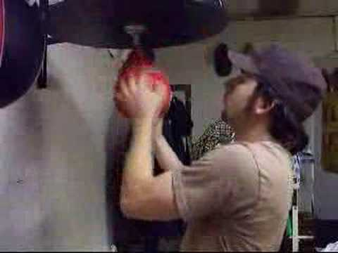 amazing speed bag training Image 1