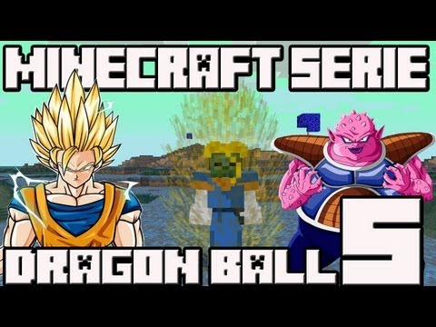 Minecraft 1.4.7 MINI-SERIE Mod Dragon Ball!! Cap.5