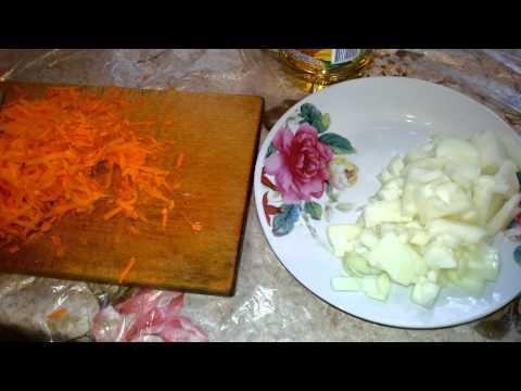Как пожарить морковь с луком - видео