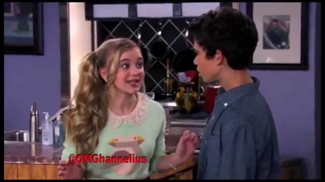 G Hannelius on Jessie - Creepy  G Hannelius And Cameron Boyce Kiss