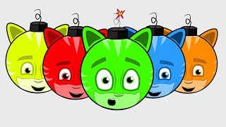PJ Masks!  Learn NEW Colors! - Learn Colors for Children