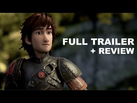 How To Train Your Dragon 2 Official Teaser Trailer + Trailer Review : HD PLUS