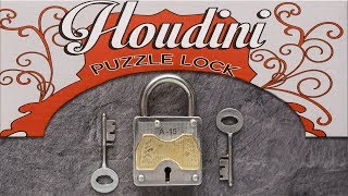 Revealing the secret of Houdini