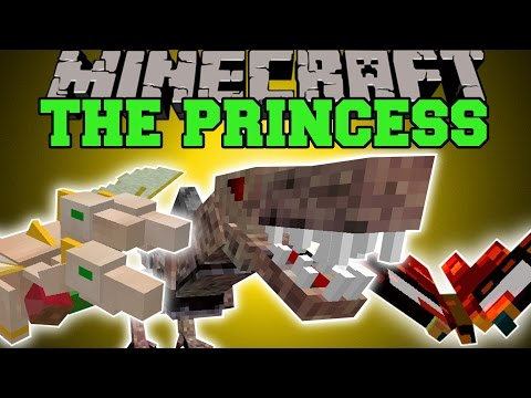 Minecraft: THE PRINCESS (THE ULTIMATE PET!!) Mod Showcase