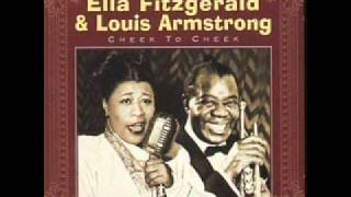 Ella Fitzgerald Louis Armstrong Cheek To Cheek Heaven