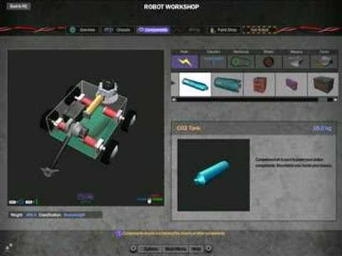 Robot Arena 2 Robot Designs Robot Arena 2 Videotutorial