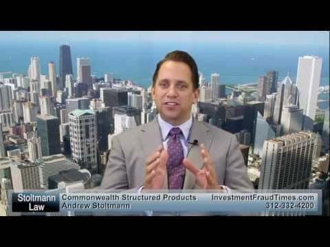 Legal Options for Commonwealth Financial Structured Products Investors