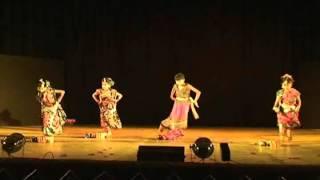 9 Years Old Girls Performance of Oh Babu Selam Bare bar by Nrito Sandom