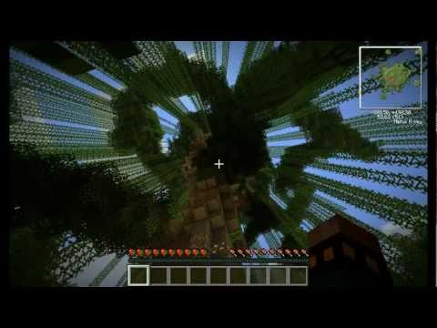 Minecraft - Ultimate Tree survival - Paul Scriptum [PART 3- По островам]