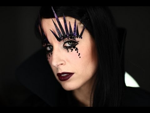 Makeup Tutorial Trucco Halloween 2012 Dark Witch