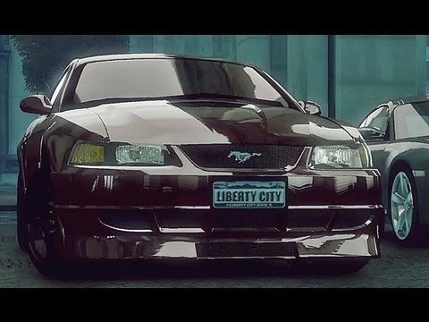 GTA 4 Ford Mustang SVT Cobra  !!  ENB series Extreme Graphics  [ Car mods + RealizmIV + VisualIV ]