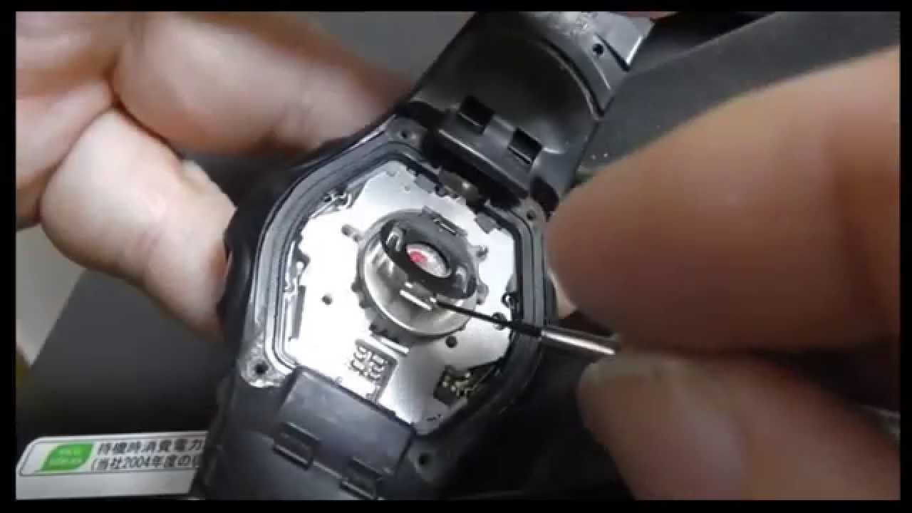 casio wave ceptor battery replacement instructions