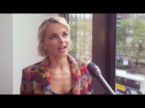 Five minutes with Bojana Novakovic