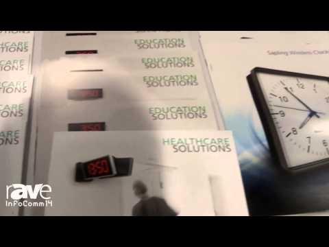 InfoComm 2014: Sapling Unveils Newest Clock Systems