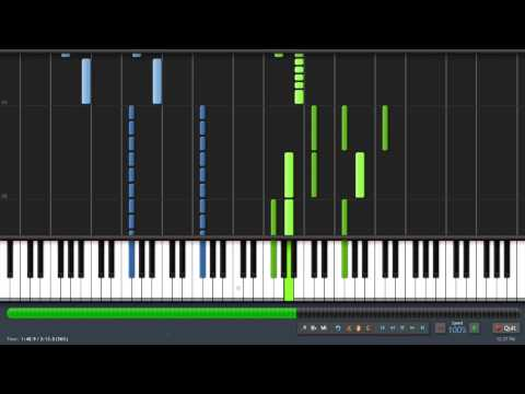 [Synthesia] Skyrim Main Theme ''Dragonborn'' (Taioo Piano Transcription) Music Videos
