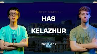 Has vs Kelazhur PvT - Round of 16 - WCS Valencia 2018 - StarCraft II