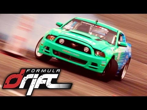 Formula Drift Racing Music Video
