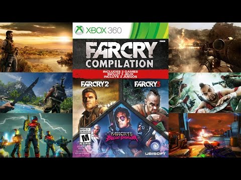 Far Cry Compilation Unboxing and Review