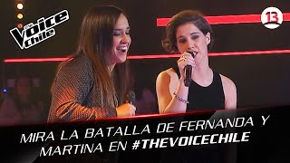 The Voice Chile | Martina y Fernanda - Ironic
