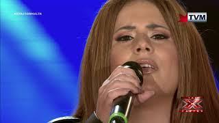 X Factor Malta - The Chair Challenge - Janice Mangion