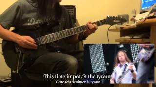 The Agonist - Panophobia (guitar cover HD)