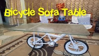 Bicycle Sofa Table innovative ideas furniture
