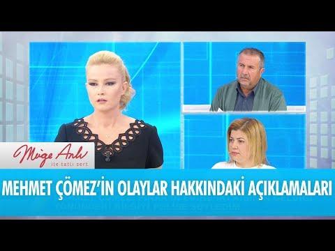 Mehmet Çömez'in olaylar hakkındaki açıklamaları- Müge Anlı İle Tatlı Sert 6 Aralık 2017