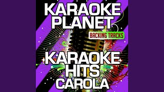 Mitt I Ett Äventyr Karaoke Version With Background Vocals Originally Performed By Carola