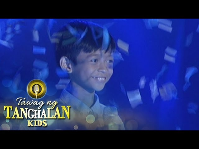 Tawag ng Tanghalan Kids: Kiefer on his 4th win!