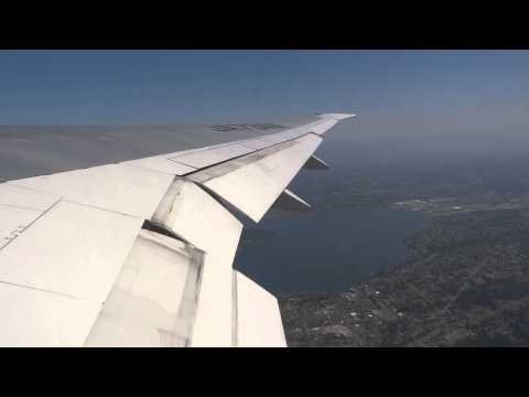 ANA 777-300ER Takeoff Seattle-Tacoma International Airport