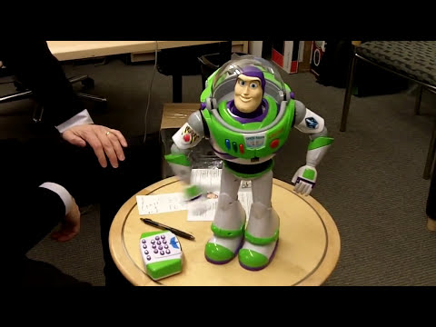 DIsney Ultimate Buzz Lightyear Robot