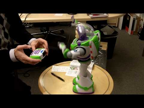 DIsney Ultimate Buzz Lightyear Robot Video
