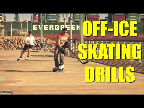 Off-Ice Skating Drills with Marsblade