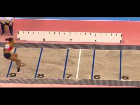 Women's Long Jump @ 2012 British Grand Prix