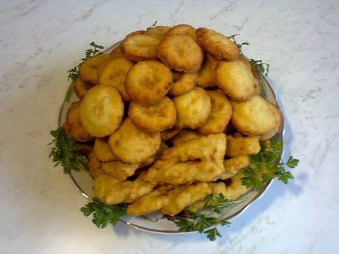 Картофельный хворост.(просто и вкусно)  Potato firewood.(simple and tasty)
