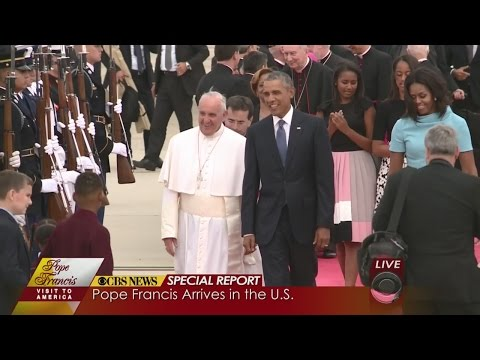 Pope Francis Meets President Obama In DC
