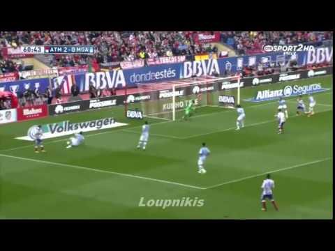 Atletico Madrid 3 - 1 Malaga   Maç Özeti (22.11.2014)