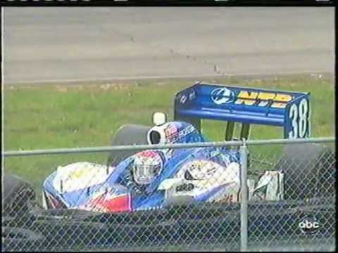 2011 Indycar Loudon - MIke Conway and Graham Rahal crash