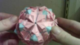 Origami Planet Globe