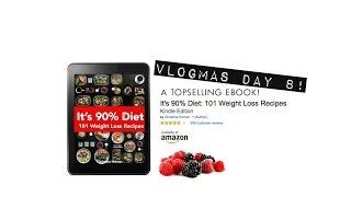 101 FREE Recipes, Ebook Download!!   Vlogmas Day 8   Gauge Girl Training