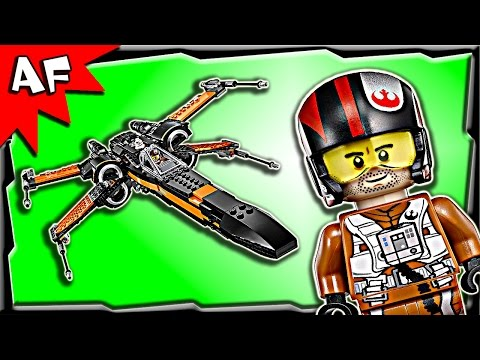 Lego Star Wars Poe's X-WING FIGHTER 75102 Stop Motion Build Review