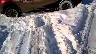 Mazda CX-5 тест-драйв в снегу