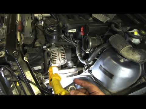 DIY Power Steering Hose Replacement E46 BMW