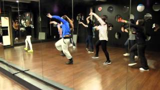 [新竹MIX] 20141218 HIPHOP JAZZ 初級 霈霈老師 1
