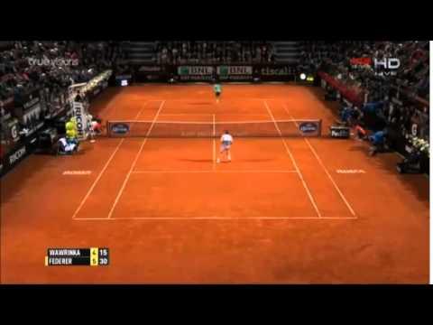 Roger Federer - Stanilas Wawrinka  HD ROME 2015