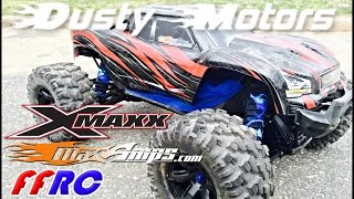 Traxxas X-MAXX DUSTY MOTORS / MAXAMPS