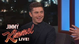 Something Happened Between Zac Efron & Madonna by : Jimmy Kimmel Live