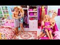 Two Barbie Ken! Bedroom Morning Routine Bunk Bed Casa House Doll Play 바비 쌍둥이 인형놀이 드라마 장난감 놀이 | 보라미TV